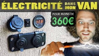 Download FACILE ! INSTALLER L'ÉLECTRICITÉ MINIMALISTE DANS TON FOURGON AMÉNAGÉ POUR MOINS DE 360€ ! Video