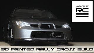 Download Introducing the Subasharu: 3D Printed Rally Cross Subaru Impreza Video