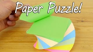 Download Make a Paper Puzzle - Brain Teaser Video