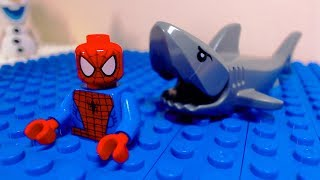 Download Lego Spider Man Shark Attack Video