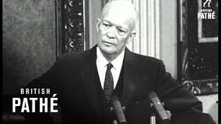 Download Eisenhower Angered By Golf Query (1957) Video