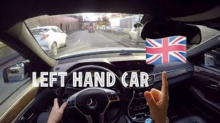 Download DRIVING A LEFT HAND CAR IN THE UK 🇬🇧 Video