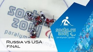Download Russia vs USA gold medal game highlights | Ice sledge hockey | Sochi 2014 Paralympic Winter Games Video