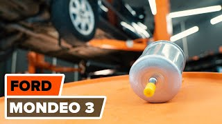 Download How to replace fuel filter on FORD MONDEO 3 TUTORIAL | AUTODOC Video