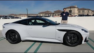 Download The Aston Martin DBS Superleggera Is Aston's $350,000 Flagship Model Video