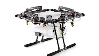 Download DJI's first water-resistant, dustproof, agricultural drone, Agras MG-1 By Three P's Entertainment Video