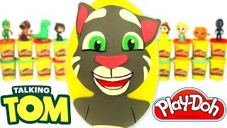 Download Huevo Sorpresa Gigante de Talking Tom en Español de Plastilina Play Doh Video