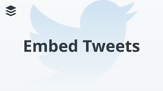 Download A Quick Tip For Embedding Tweets & Updates Video