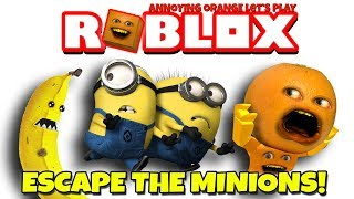Download Annoying Orange Plays - Roblox: Escape the Minions OBBY! Video