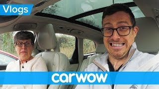 Download Scaring my mom with Volvo's latest self-driving tech | Mat Vlogs Video