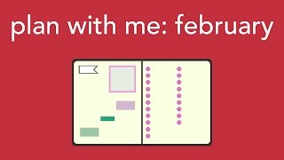 Download plan with me: february 2017 Video