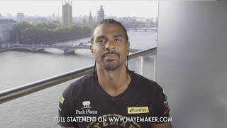 Download David Haye announces retirement from professional boxing Video