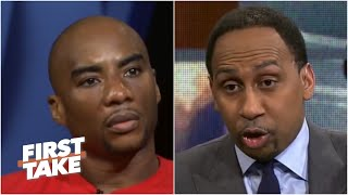 Download Charlamagne Tha God Confronts Stephen A. Over Colin Kaepernick | First Take | April 24, 2017 Video