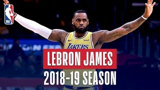 Download LeBron James' Best Plays From the 2018-19 NBA Regular Season Video