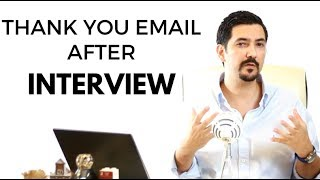 Download Thank You Email After The Interview - Learn This #1 Trick To Double Your Chances ✓ Video