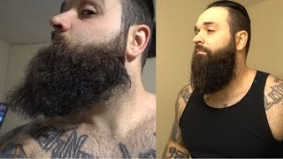 Download How I straighten my beard like a BOSS !!!! | Curly beard fix Video