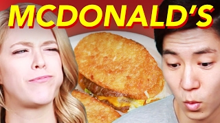 Download People Try Bizarre McDonald's Mashups Video
