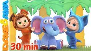 Download 🏝 😘 Down in the Jungle | Nursery Rhymes and Kids Songs | Baby Songs from Dave and Ava 😘 Video