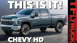 Download 2020 Chevy Silverado HD: You Won't Believe The Way It Looks! Video