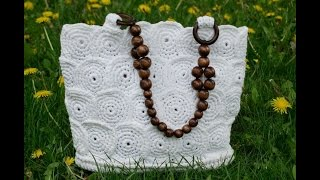 Download Вязание крючком сумочки - корзинка ч1. Crochet handbag baskets Part 1 Video
