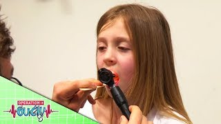 Download Science for Kids - I Swallowed A Hair Clip   Operation Ouch Video