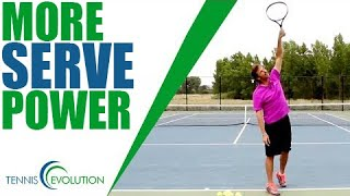 Download TENNIS SERVE | How To Add More Power On Your Serve Video