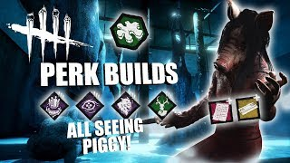 Download ALL SEEING PIGGY! | Dead By Daylight THE PIG PERK BUILDS Video