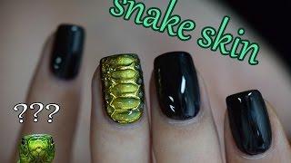 Download Snake Skin Nail Art | Red Iguana | April Ryan Video