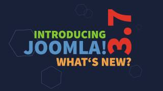 Download Joomla! 3.7 is coming! 700+ improvements and 40 new features. Video
