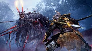 Download NIOH (PS4) - Ogress Boss Battle Gameplay @ HD ✔ Video