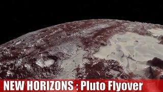 Download New Horizons Flyover of Pluto : Nasa new view of Pluto Video