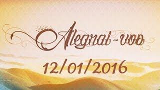 Download Alegrai-vos de 12/01/16 - Cinco características das pessoas infelizes Video