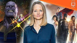 Download Jodie Foster Slams Superhero Films & Says They are killing Earth Video