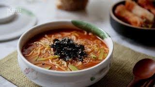 Download [ENG CC] 강릉 장칼국수 만들기 : Jangkalguksu(Korean Spicy Noodles Recipe) : 키미 Kimi Video