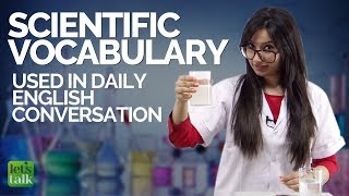 Download Learn Scientific English Vocabulary used in daily English conversations | Improve your English Video