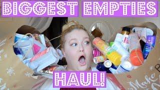 Download BIGGEST EMPTIES HAUL ON YOUTUBE!!! Video