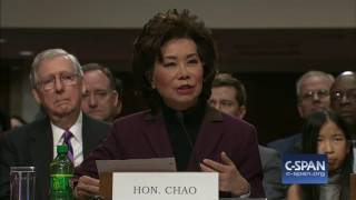 Download Secretary of Transportation Nominee Elaine Chao Opening Statement (C-SPAN) Video