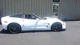 Download ZR1 Corvette 1/4 Mile BURNOUT Video