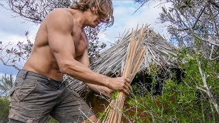 Download Preparing Primitive Hut for Rain and Tasting Smreka Video
