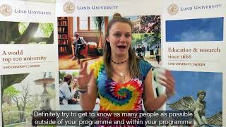 Download Welcome message for North American students Video