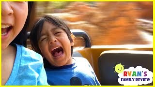 Download Ryan rides Splash Mountains for the first time at DisneyLand Amusement Parks Video