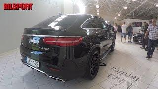 Download Mercedes-AMG GLE S 63 Coupé - 585 hk V8 biturbo! Video