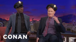 Download JB Smoove Casts Conan In His New Show ″Carnival Cops″ - CONAN on TBS Video