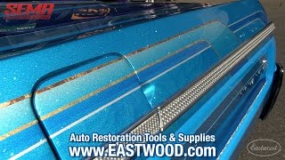 Download Wild 1964 Chevy Impala Lowrider Convertible at SEMA 2015 - Must See Paint - Eastwood Video