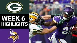 Download Packers vs. Vikings | NFL Week 6 Game Highlights Video