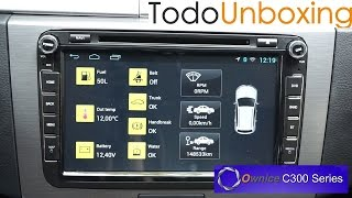 Download Unboxing y análisis radio-cd Ownice C300 Volkswagen VW Video