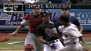 Download BOS@TB: Gerald Williams, Pedro Martinez cause benches to clear Video