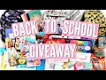 Download HUGE BACK TO SCHOOL GIVE♡AWAY Video