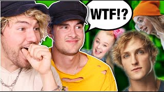 Download REACTING TO YOUTUBERS WE DON'T WATCH 2 Video