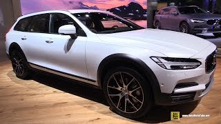 Download 2017 Volvo V90 Cross Country - Walkaround and Interior Walkaround Debut at 2016 LA Auto Show Video